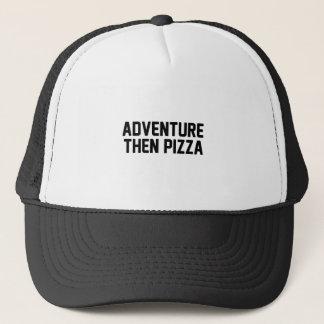 Gorra De Camionero Pizza de la aventura entonces