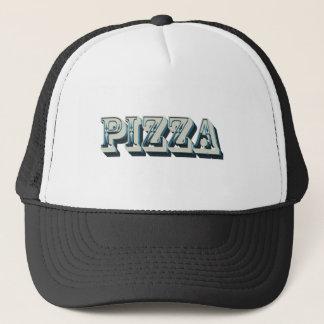 Gorra De Camionero Pizza del vintage para los inconformistas y los