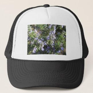 Gorra De Camionero Planta de Rosemary con las flores en Toscana,