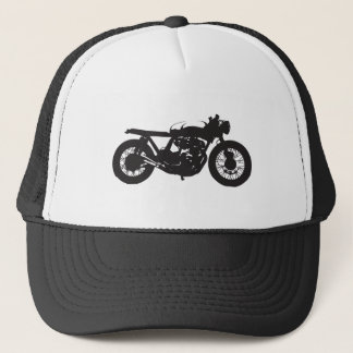 Gorra De Camionero Plantilla fresca del vintage de la motocicleta del