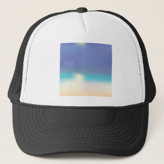 Gorra De Camionero Playa tropical abstracta