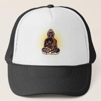 Gorra De Camionero Poder negro de Buda