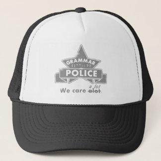 Gorra De Camionero Policía de la gramática