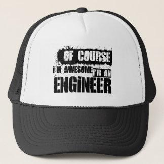 Gorra De Camionero Por supuesto soy impresionante yo soy ingeniero