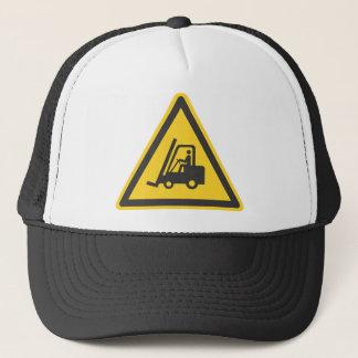 Gorra De Camionero Precaución de Warehouse de la diversión del
