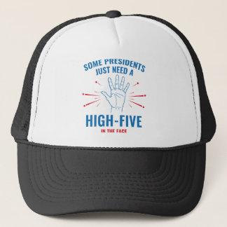 Gorra De Camionero Presidente Alto-Cinco Face