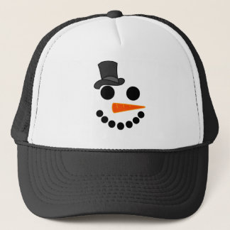 Gorra De Camionero Productos del muchacho del muñeco de nieve