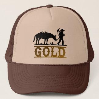 Gorra De Camionero Prospector del oro