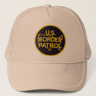 Gorra De Camionero protección de la frontera de la patrulla