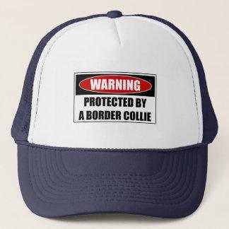 Gorra De Camionero Protegido por un border collie
