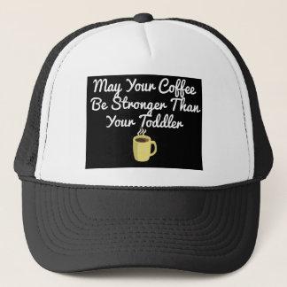 Gorra De Camionero Puede su café ser más fuerte que su niño