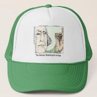 Gorra De Camionero Puente de George Washington y regalo divertido de