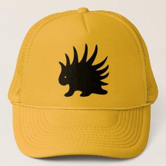 Gorra De Camionero Puerco-espín Liberal Libertario de color negro.