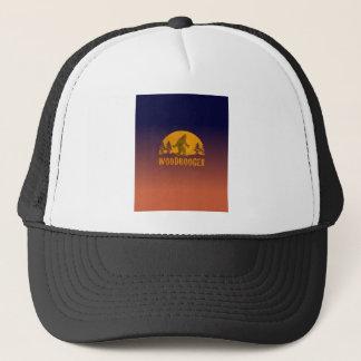 Gorra De Camionero Puesta del sol del vintage de Woodbooger