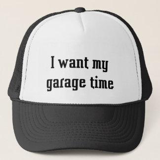 Gorra De Camionero Quiero mi tiempo del garaje
