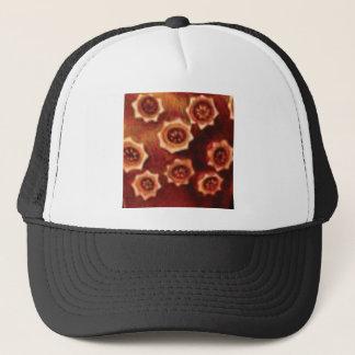 Gorra De Camionero racimo de flor rojo