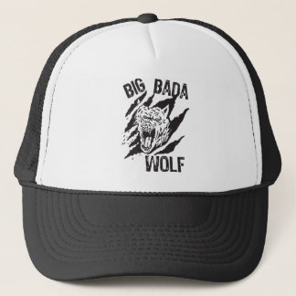 Gorra De Camionero Rasguños grandes de la pata del lobo de Bada