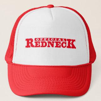 Gorra De Camionero Redneck. oficial
