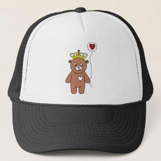 Gorra De Camionero reina del oso de peluche