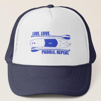 Gorra De Camionero Repetición viva de la paleta del amor
