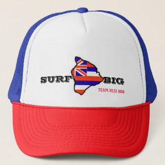 Gorra De Camionero Resaca del salvavidas de Hawaii: RESACA GRANDE