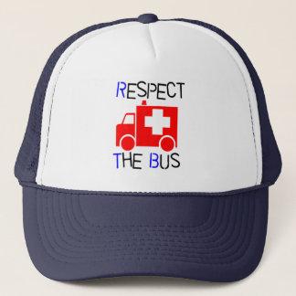 Gorra De Camionero Respete el autobús