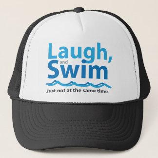 Gorra De Camionero Risa y nadada… apenas no al mismo tiempo