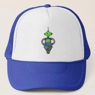 Gorra De Camionero Robot, azul y verde de Arnie