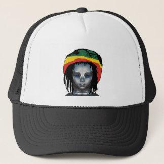 Gorra De Camionero Robótica Rastafarian