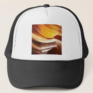 Gorra De Camionero rocas anaranjadas del sol del moreno