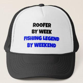 Gorra De Camionero Roofer de la leyenda de la pesca