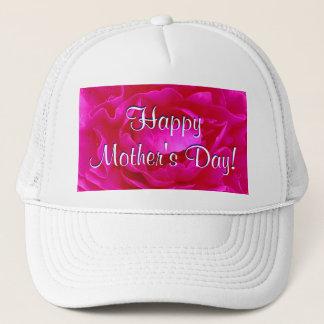 Gorra De Camionero Rosa feliz del día de madre subió