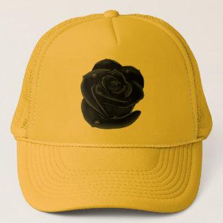 Gorra De Camionero Rosas negros elegantes