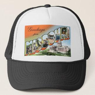 Gorra De Camionero Saludos de Missouri