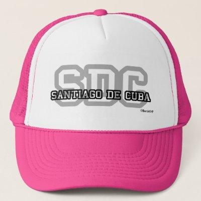 2d11c50213516 Gorra De Camionero Logotipo del béisbol de Santiago de Cuba