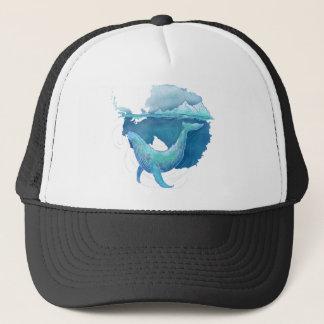 Gorra De Camionero Santuario de la ballena del océano meridional