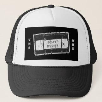 Gorra De Camionero Sci-Fi-Películas negro y blanco