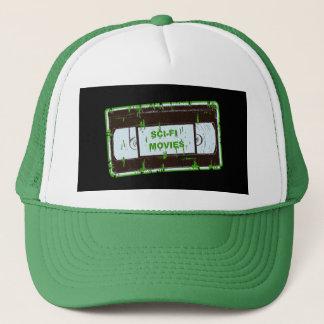 Gorra De Camionero Sci-Fi-Películas negro y verde