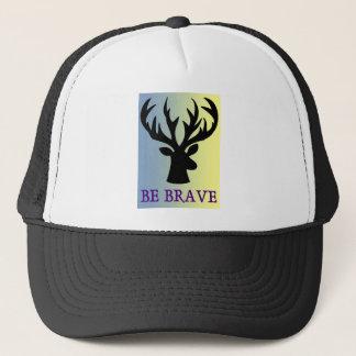 Gorra De Camionero Sea sombra valiente de la cabeza de los ciervos