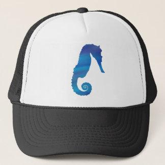 Gorra De Camionero Seahorse en el océano