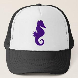 Gorra De Camionero Seahorse púrpura