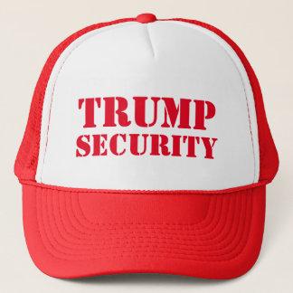 Gorra De Camionero Seguridad de la elección de Donald Trump
