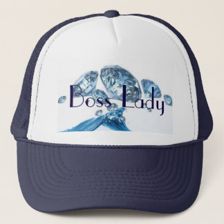 Gorra De Camionero Señora Blue Diamonds Trucker Hat de Boss
