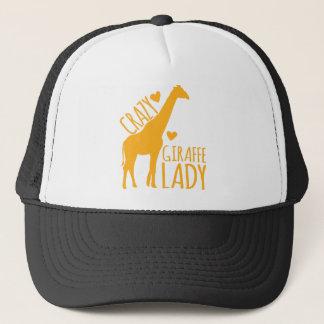 Gorra De Camionero señora loca de la jirafa