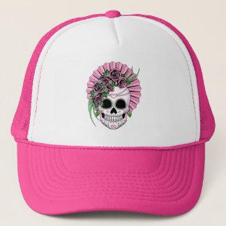 Gorra De Camionero Señora Sugar Skull