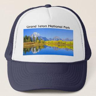 Gorra De Camionero Serie magnífica 1 del parque nacional de Teton