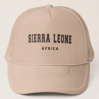 Gorra De Camionero Sierra Leone África