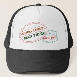 Gorra De Camionero Sierra Leone allí hecho eso