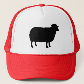 Gorra De Camionero Silueta de las ovejas negras
