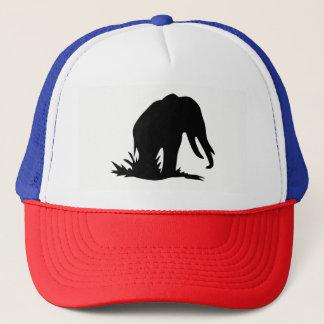 Gorra De Camionero Silueta del elefante
